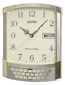 Rhythm Wall clock with Day and Date calendar